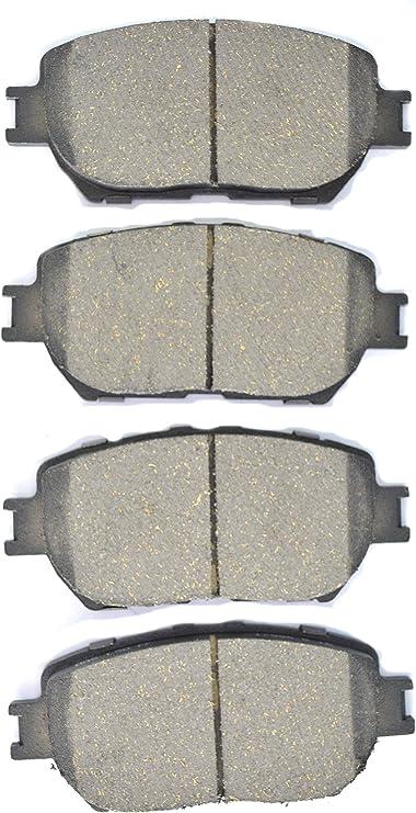SET OF 4  NEW REMSA  MD296  FRONT SILVER PREMIUM SEMI-METALLIC  DISC BRAKE PADS