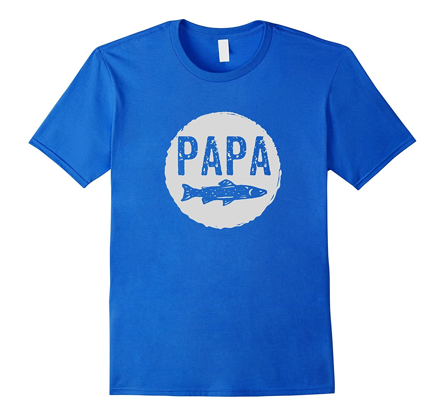 mens papa fishing t shirt fathers day grandfather fish tee goatstee. Black Bedroom Furniture Sets. Home Design Ideas