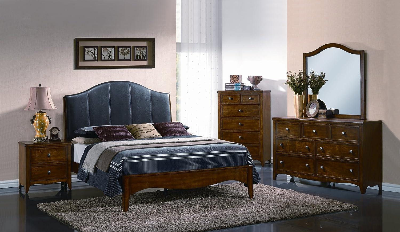 Amazon Com Yuan Tai Vivon 5 Piece Bedroom Furniture Set King
