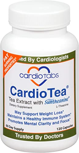 CardioTea with L-Theanine Suntheanine , 120 Capsules