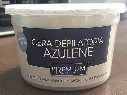 Premium azuleno cálido Cera, 350 ml para el microondas: Amazon.es ...