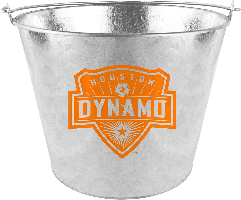 Boelter Brands MLS Houston Dynamo Metal Bucket, 5 Quarts