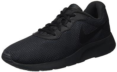 Nike 844887-009: Tanjun SE Black Mens Running Sneakers (8 D(M