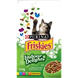 Friskies Indoor Delights Dry Cat Food - 1.4 kg Bag