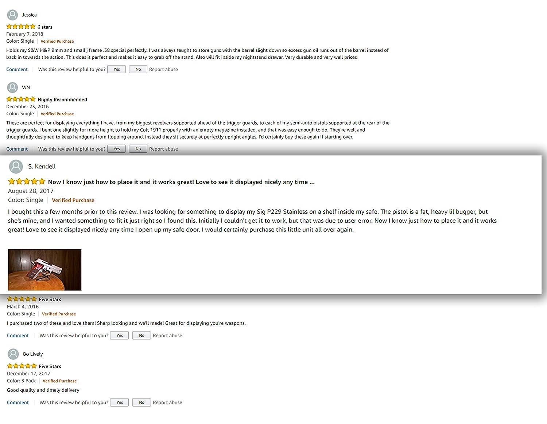 Amazon.com: Percha para pistola con soporte para pistola ...