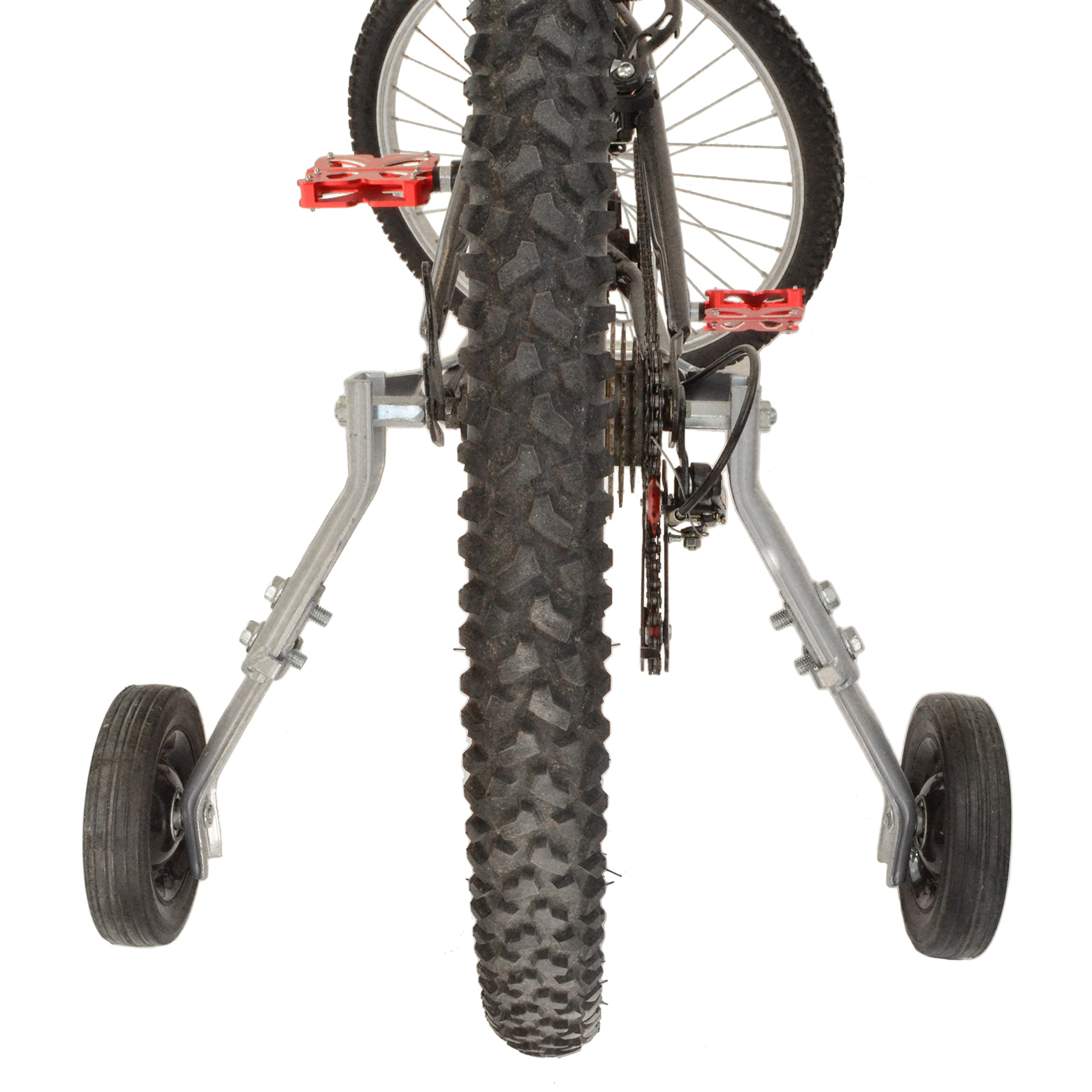 """Lumintrail Heavy Duty Adjustable Bike Training Wheels for 20"""" to 26"""" Bicycles by Lumintrail (Image #2)"""