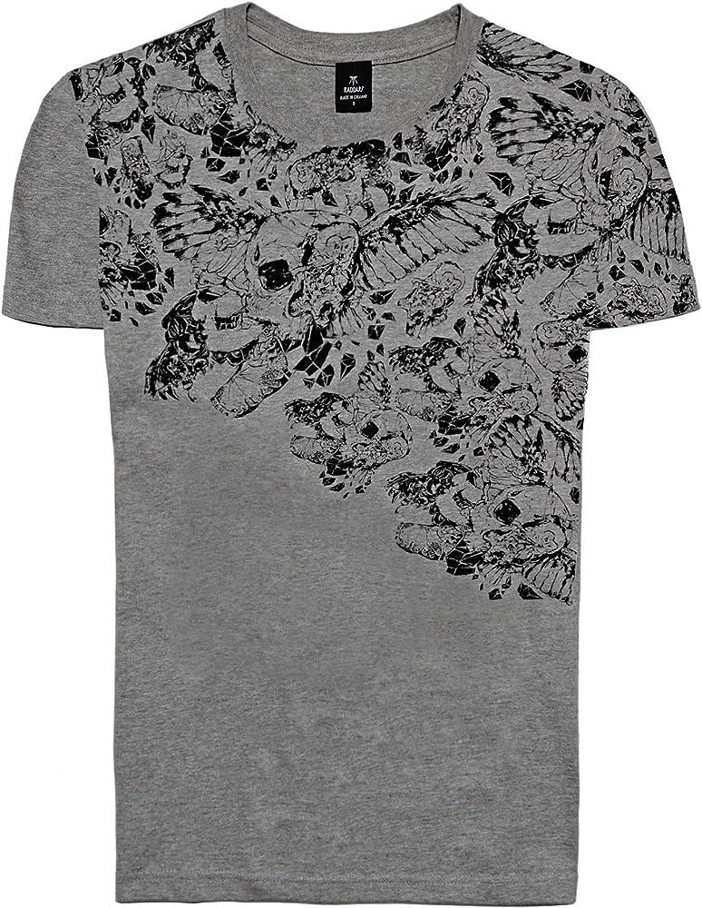 Designer Fashion Rock Camisetas de Algodón para Hombre - Camiseta ...