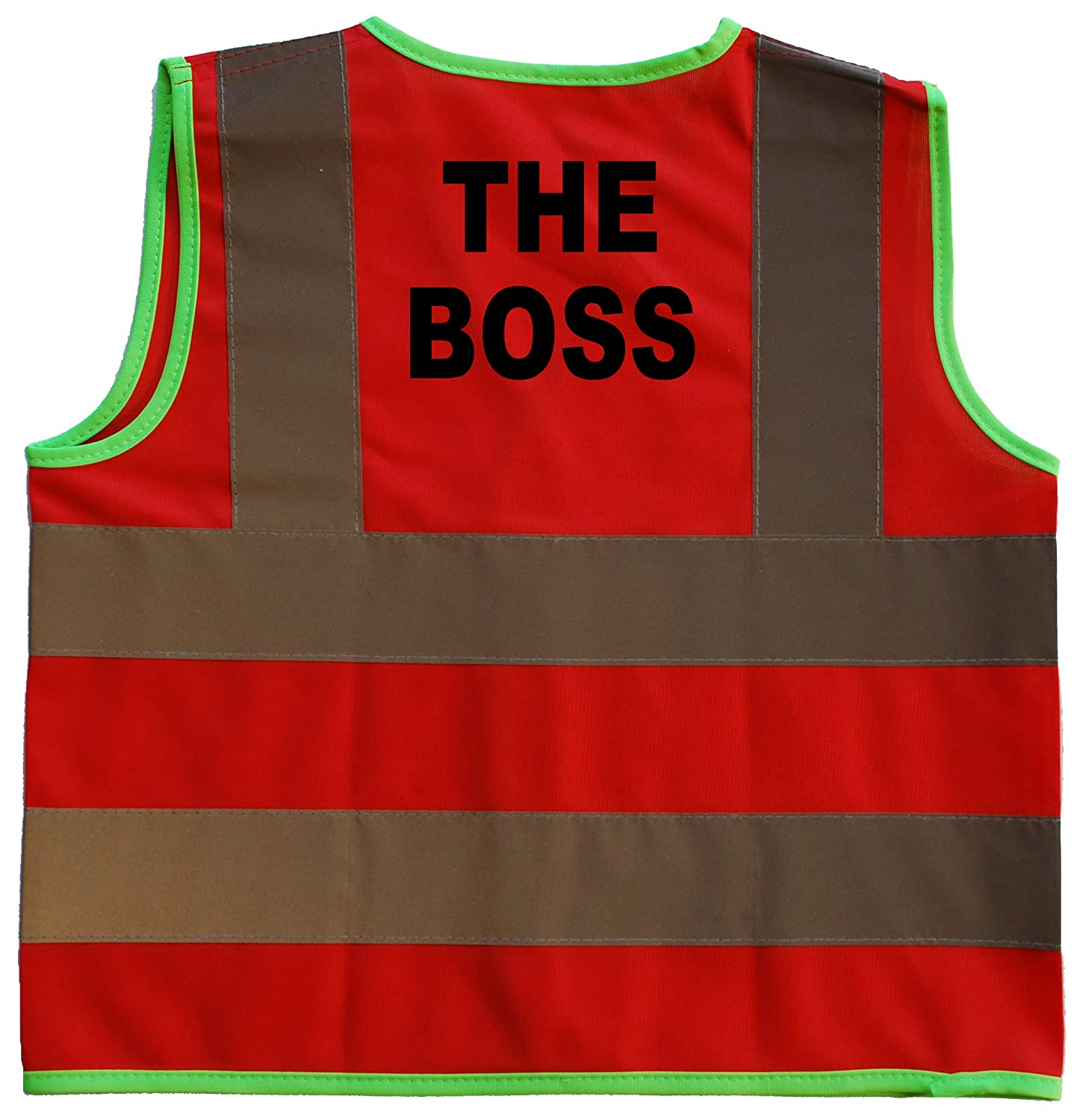 The Boss Baby/Children/Kids Hi Vis Safety Jacket/Vest Sizes 0 to 8 Years Optional Personalised On Front