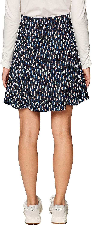 Esprit 019ee1d001 Falda, (Navy 400), Small para Mujer: Amazon.es ...