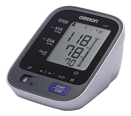 OMRON M500 - Tensiómetro de brazo eléctrico, color gris [Importado de Alemania]