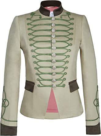 The Extreme Collection Chaqueta Blazer de Mujer Estilo Militar ...
