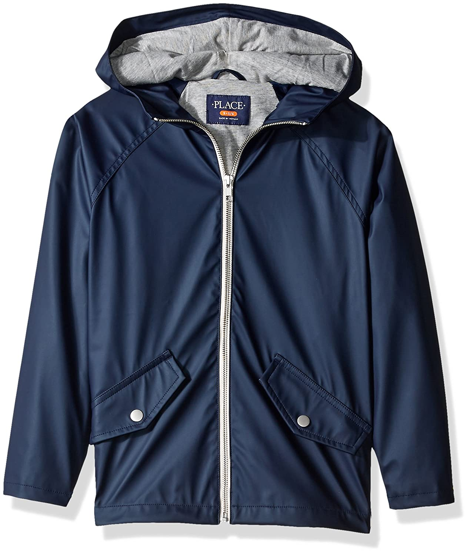 The Children's Place Boys' Uniform Rain Slicker 2066461