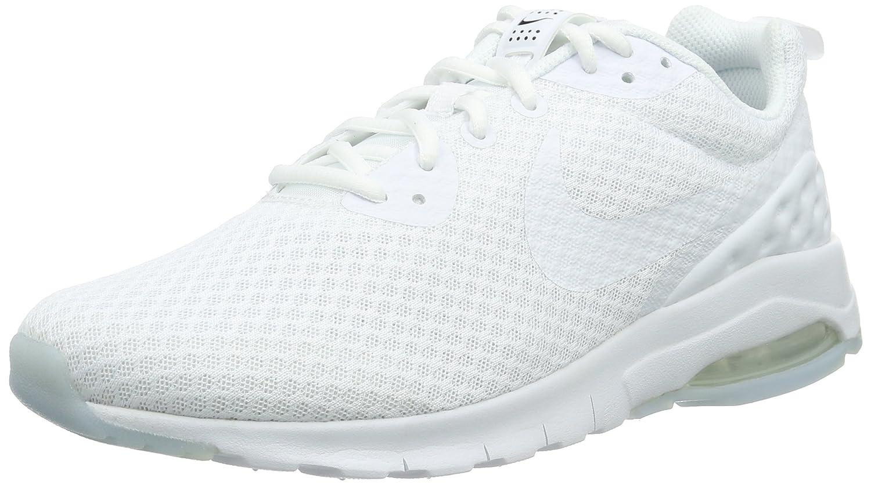 Nike Hommes Air Max Motion Low Cross Trainer Regular Blanc/Blanc Noir prises électriques 72Q549