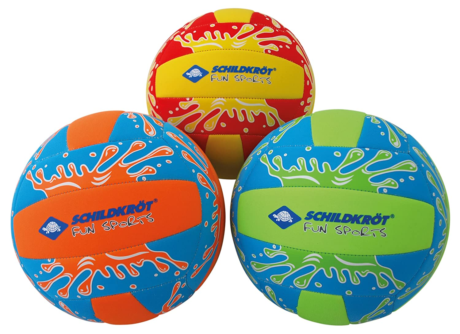 Schildkröt Fun Sports Néoprène Beachvolley, Taille 5 Mixte Adulte, Multicolore