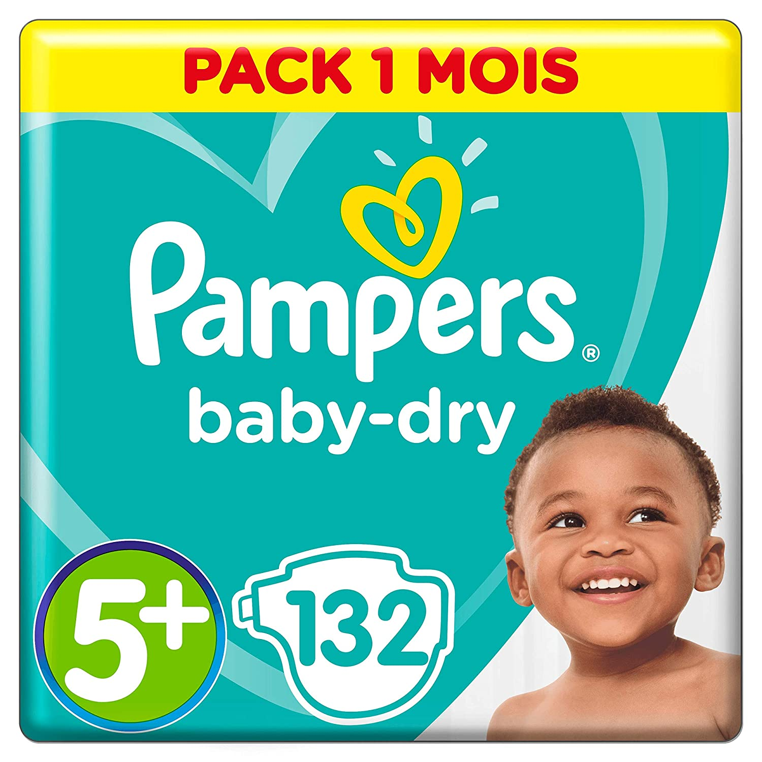 Baby Dry Couches Taille 3 x198 couches - Pack 1 mois 5-9 kg Pampers