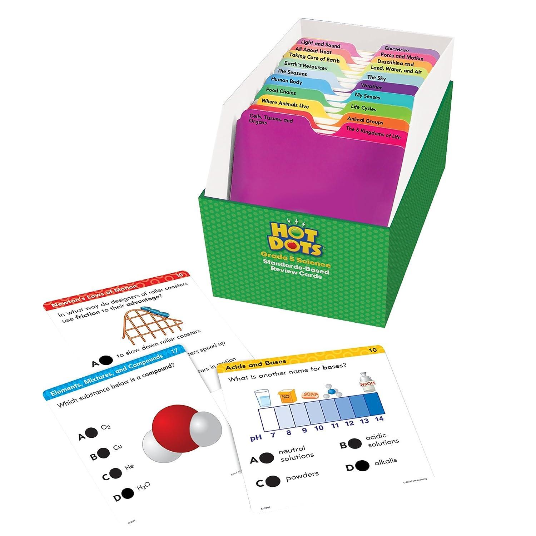【良好品】 [エデュケーショナルインサイト]Educational Insights Hot Cards Dots 2509 Science StandardsBased Review Cards Insights Grade 5 2509 [並行輸入品] B002LZRUH8, スイートベジタブルファクトリー:25311b10 --- mrplusfm.net