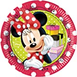 20cm Fashion Disney Minnie Mouse Party Plates, Pack of 8