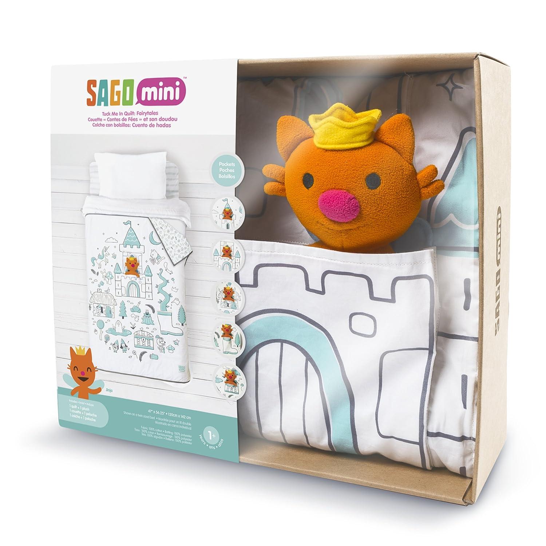 Sago Mini - Tuck Me In Quilt - Fairy Tales Sago Sago Toys RM-QUILT002-01