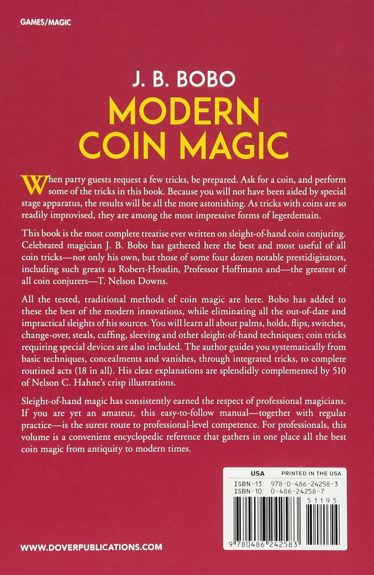 Jb Bobo Modern Coin Magic Pdf