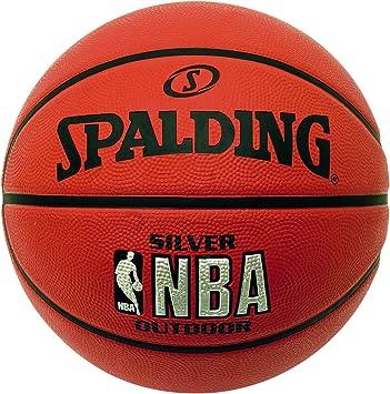 Amazon.com: Spalding NBA Silver – Balón de baloncesto ...