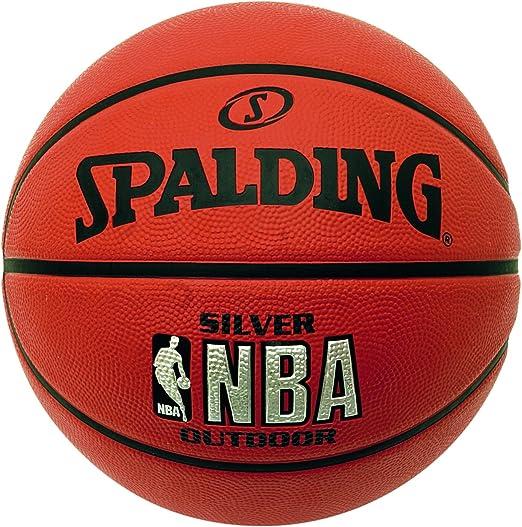 100 opinioni per Spalding Silver Outdoor Palla da basket NBA, -, 7