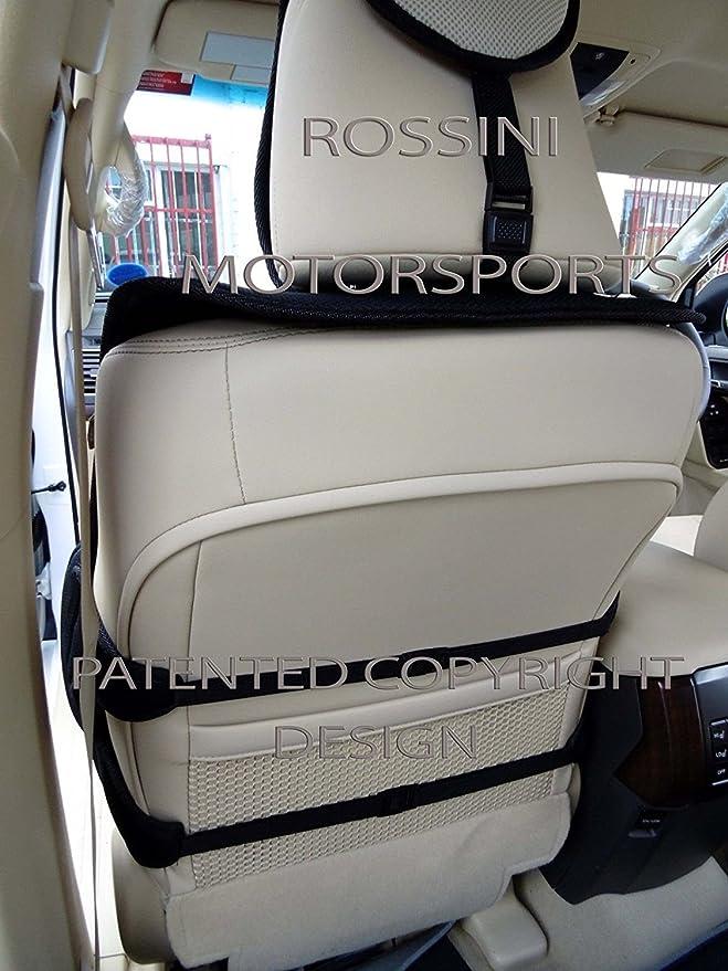 Wheels N Bits Fiat 500 500L 500C Punto Uno ALL BLACK Universal PU Leather Type Car Seat Covers Full Set