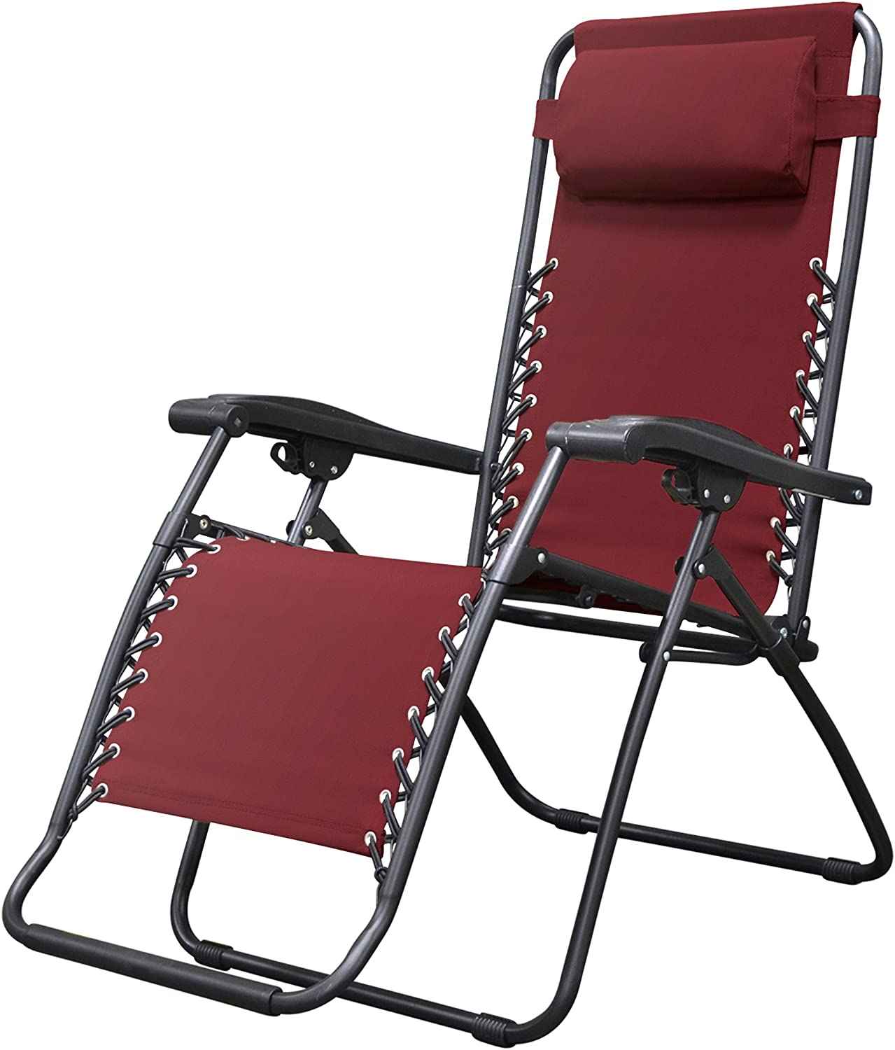 Caravan Canopy Sports Infinity Burgundy Zero Gravity Chair