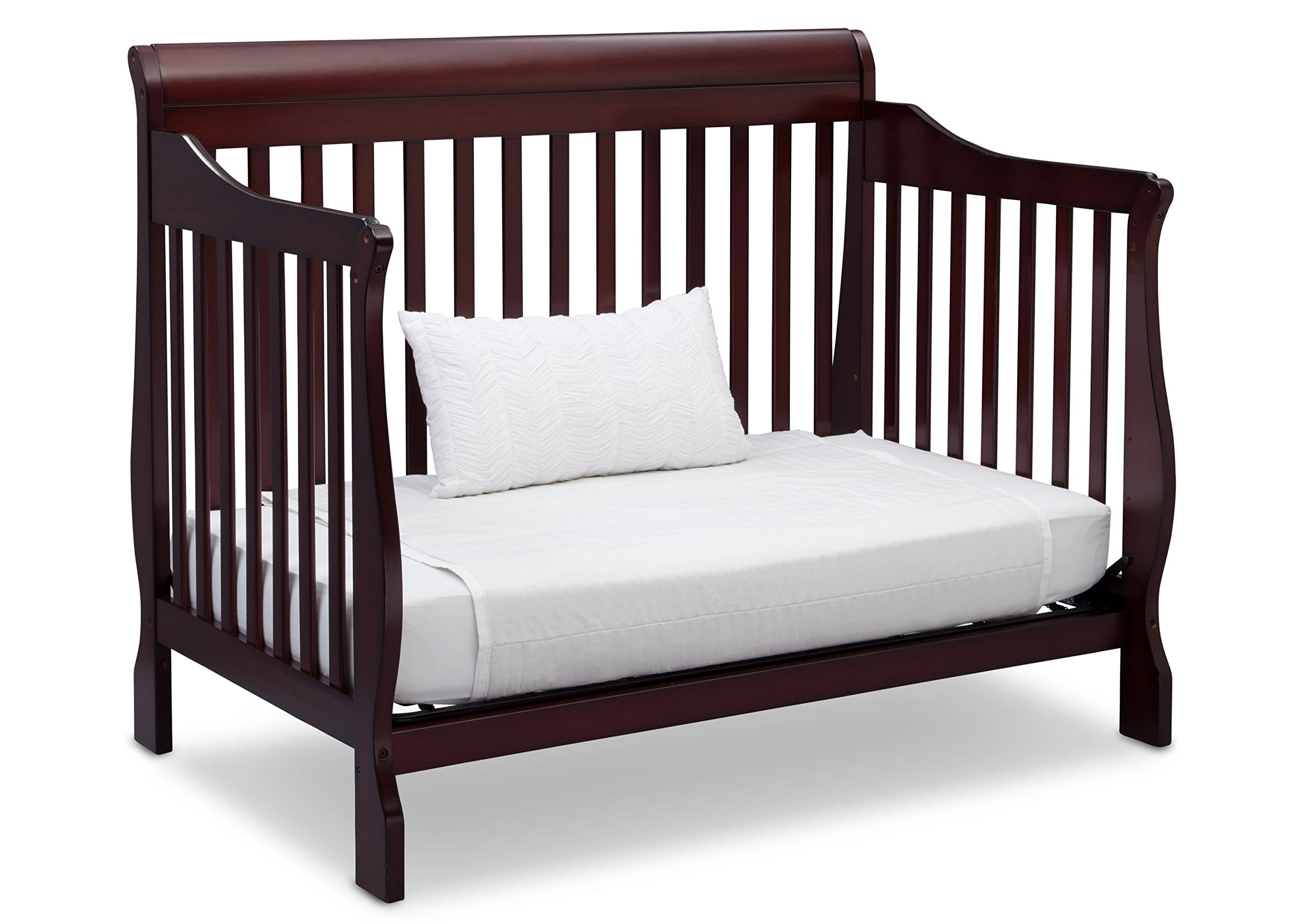 Delta Children Canton 4-in-1 Convertible Crib, Espresso Cherry by Delta Children (Image #6)