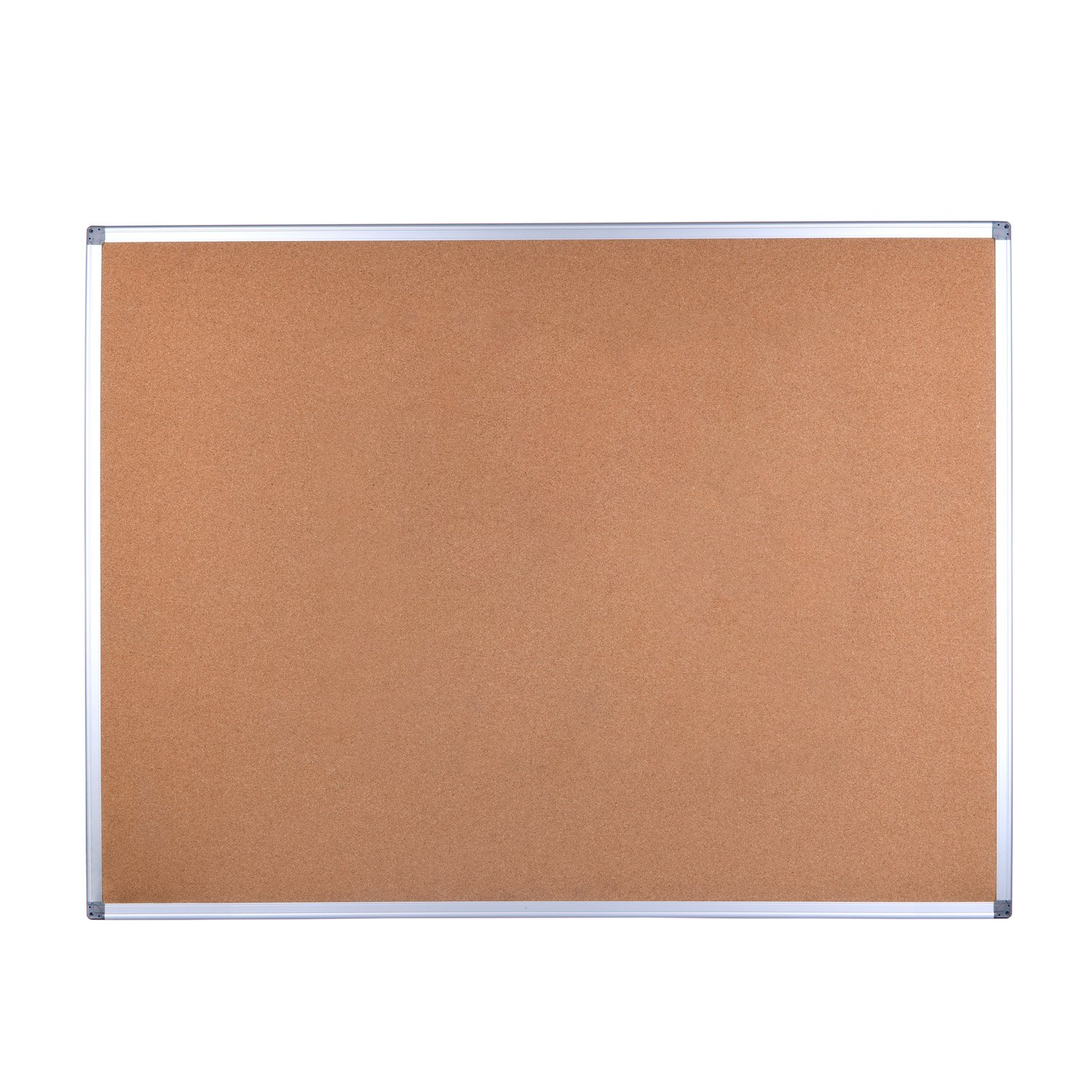 EFIRNITURE Cork Board Bulletin Board,48 x 36 Inch Aluminum Frame Wall Mounted, Perfect for Home Office School