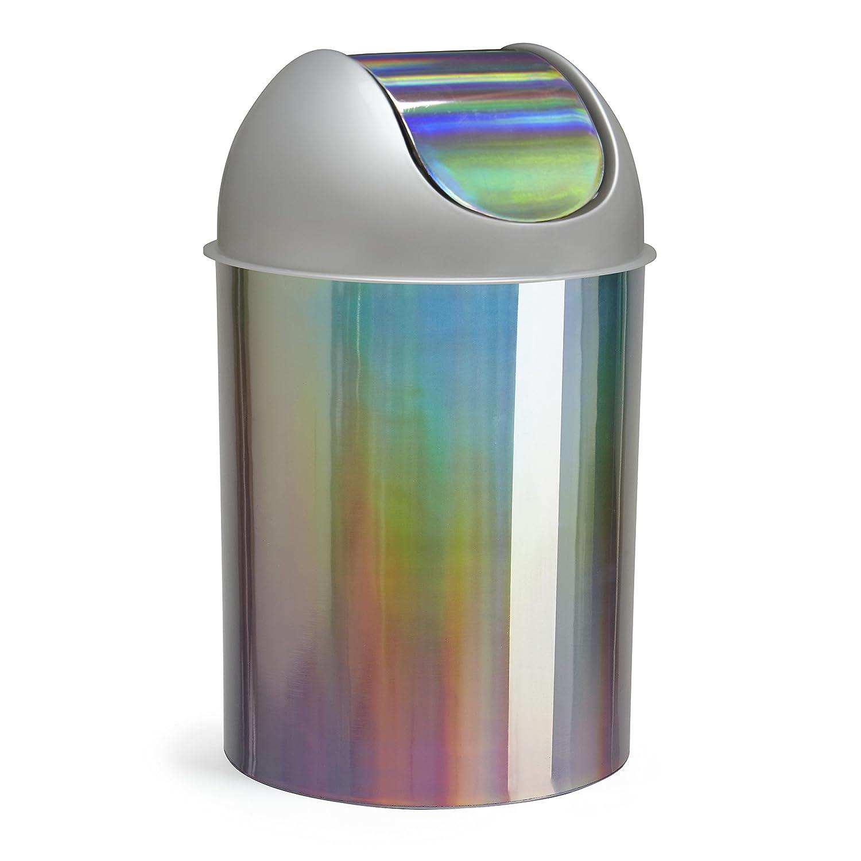 Amazon: Umbra Mezzo Swingtop Waste Can, 25gallon (9 L), Bronze: Home  & Kitchen