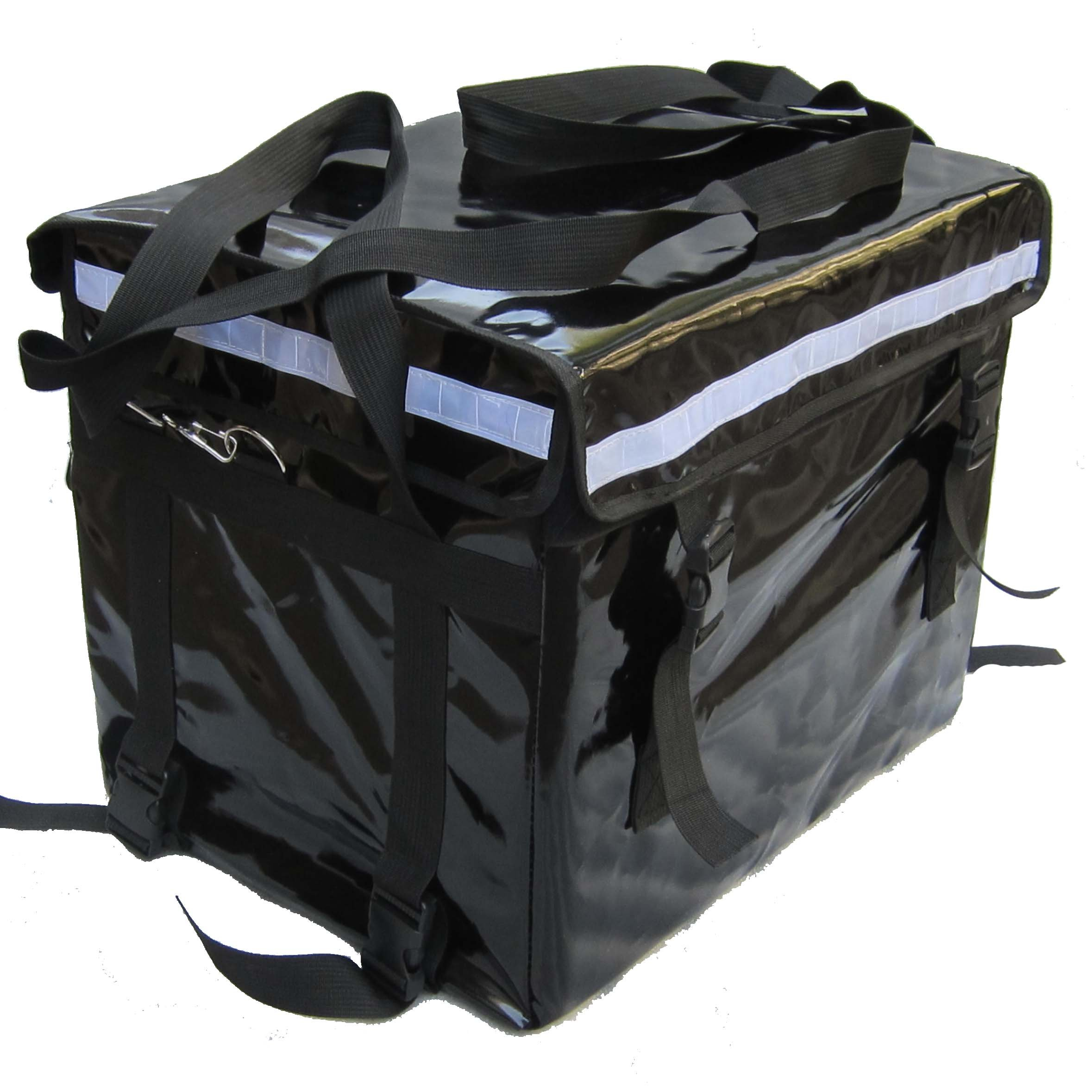 PK-46C: Food Delivery Box For Scooter/Bike/Motorcycle with Best Performance and Rigid Basket, 17'' L x 12'' W x 13'' H