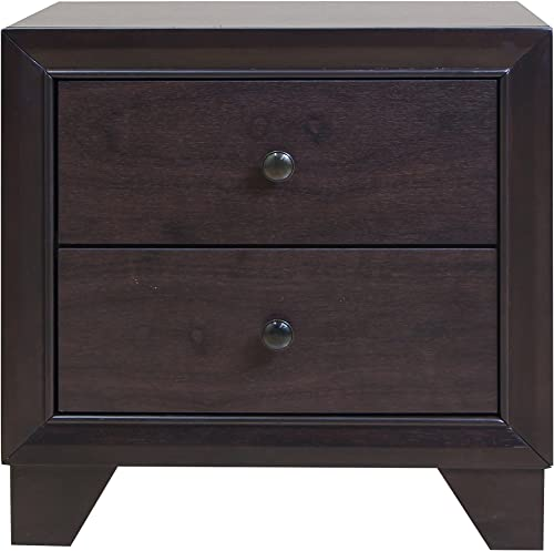 ACME 19573 Madison Nightstand, Espresso Finish