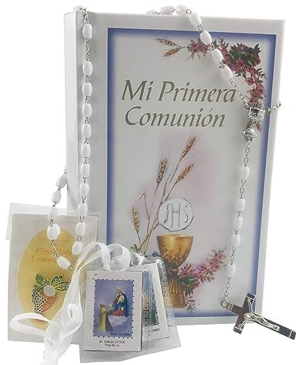 Amazoncom Christian Brands Mi Primera Comunion Girls Set Pack En