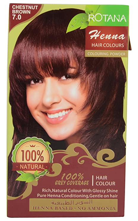Buy Rotana Henna Based No Ammonia Hair Color Chestnut Brown Online