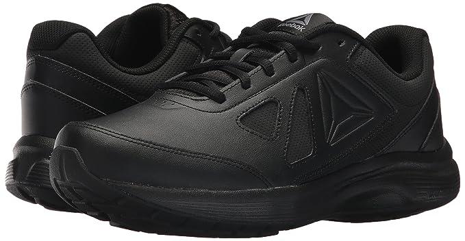 Reebok Men's Walk Ultra 6 DMX MAX 4E Sneaker, BlackAlloy