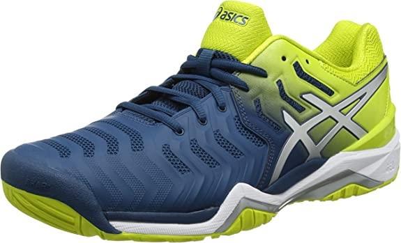 ASICS Gel-Resolution 7 Azul y Amarillo