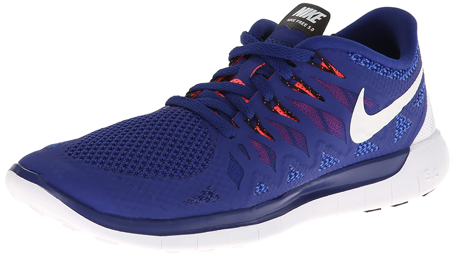 check out a7ab0 dbb8c NIKE Mens Free 5.0 40 Blue