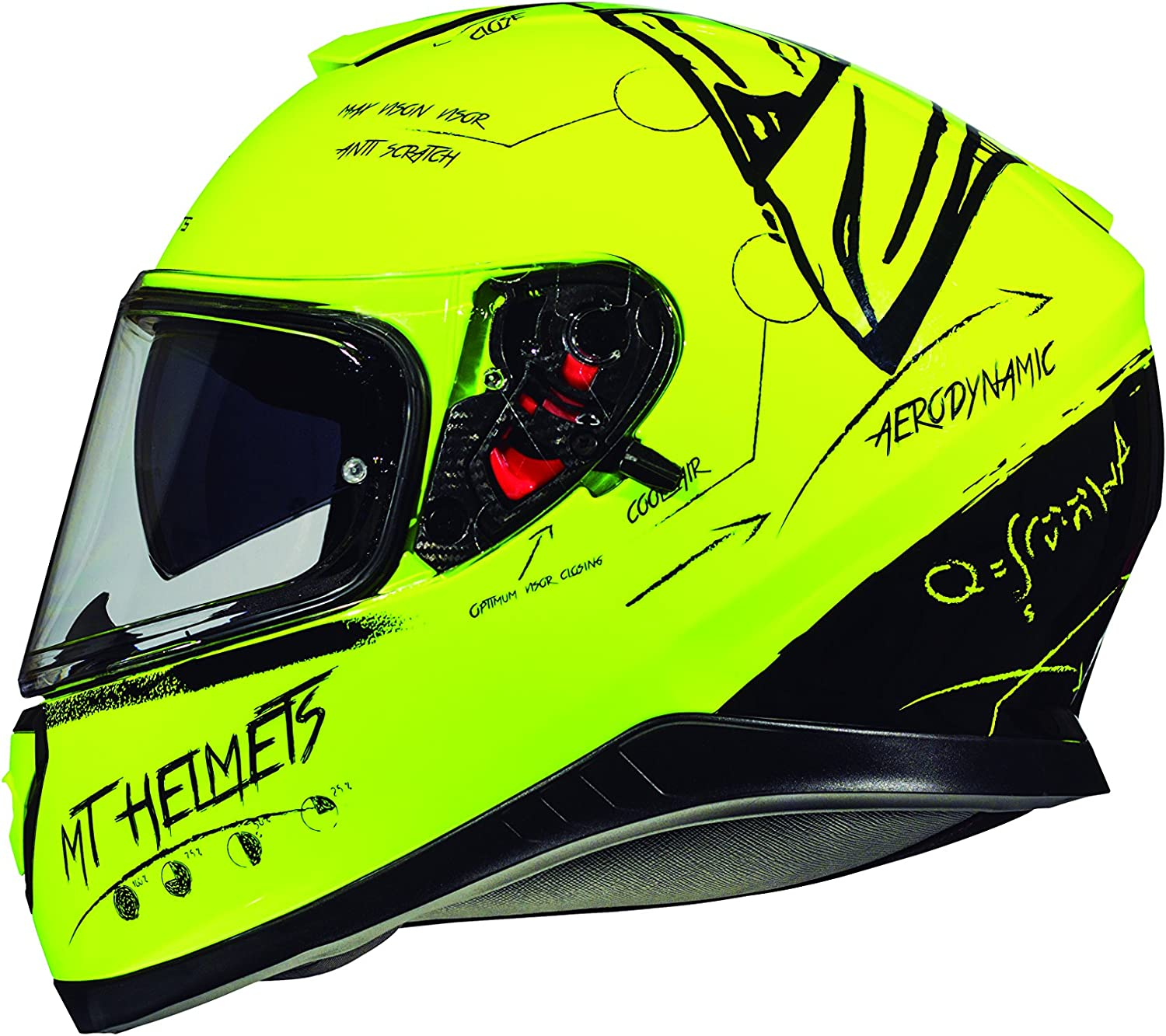 casco integral MT Thunder