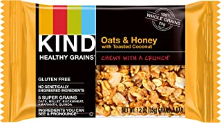 product image for KIND Healthy Grains Granola Bars, Oats & Honey with Toasted Coconut, Non GMO, Gluten Free, 1.2 Ounce Bar Sample