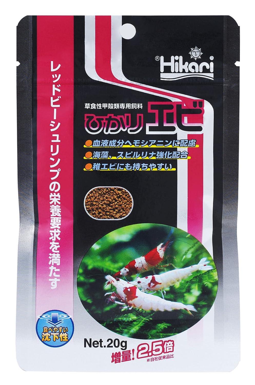 Hikari(ひかり) ひかりエビ 草食性甲殻類専用飼料 20g