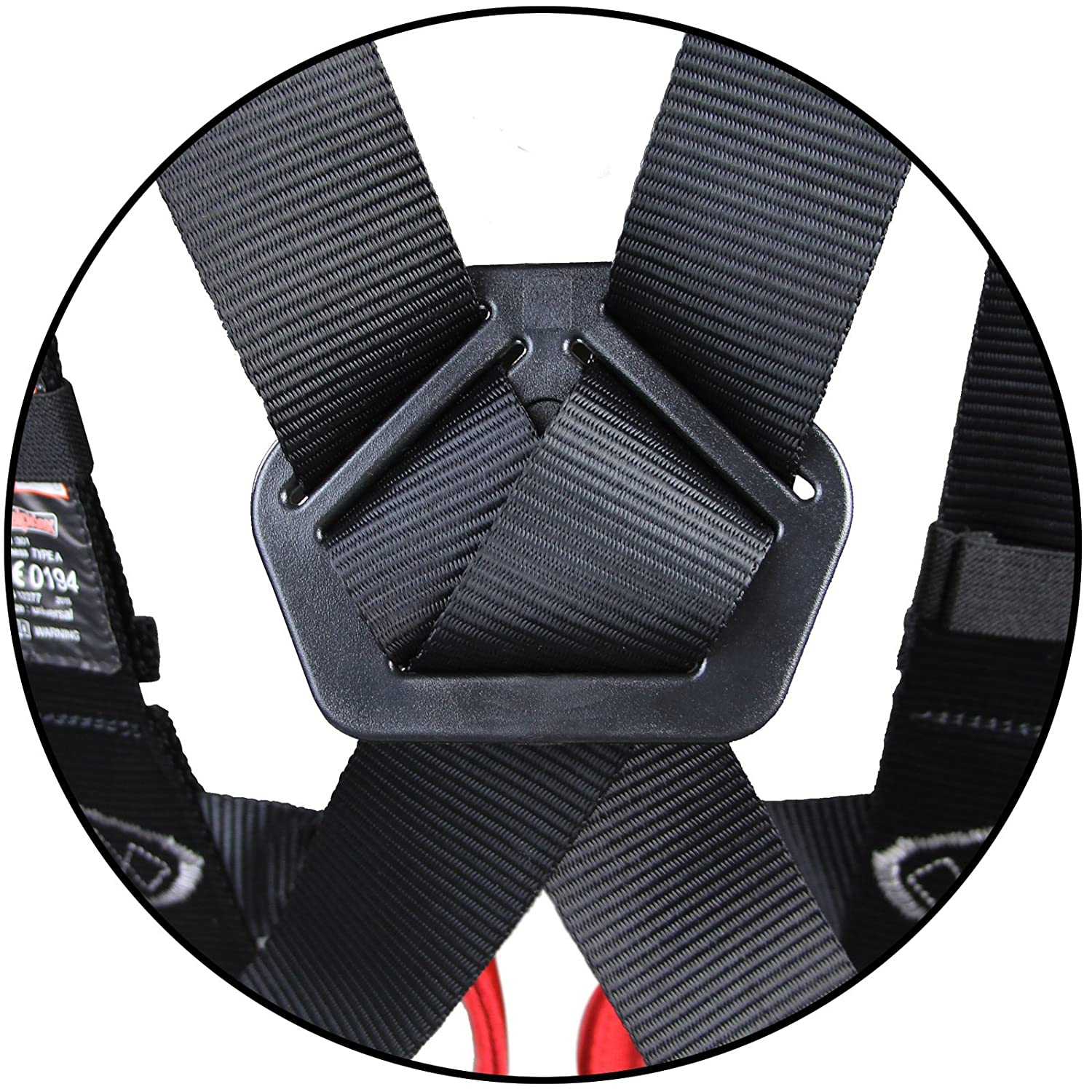 ALPIDEX Full body harness infinitely adjustable for adults up to 100 kg