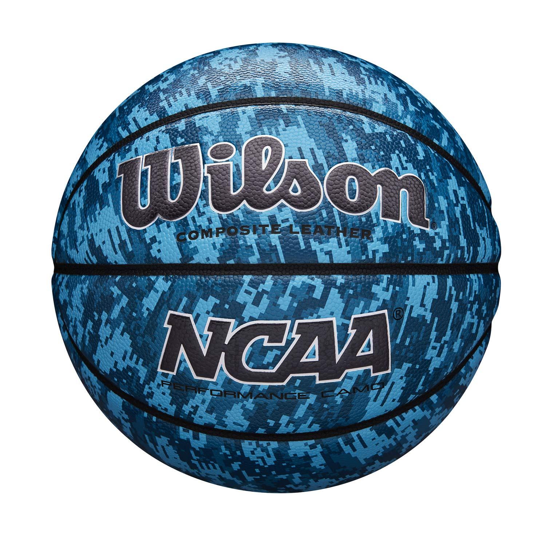 Wilson Balón de Baloncesto, NCAA Performance Camo, Cuero Compuesto ...