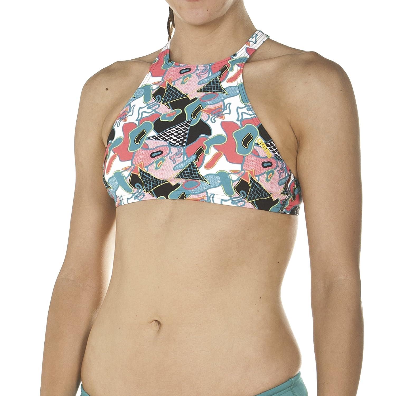 arena Crop Think Top de Bikini de Entrenamiento, Mujer, L
