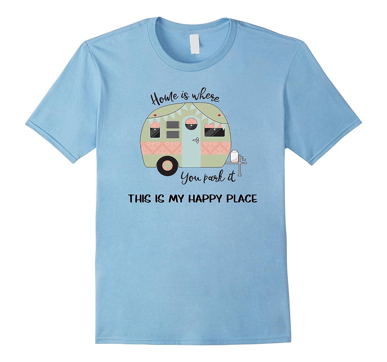 df8d3379 Cute Vintage Camp Trailer T Shirt- RV Retro Camper T Shirt-T-Shirt ...