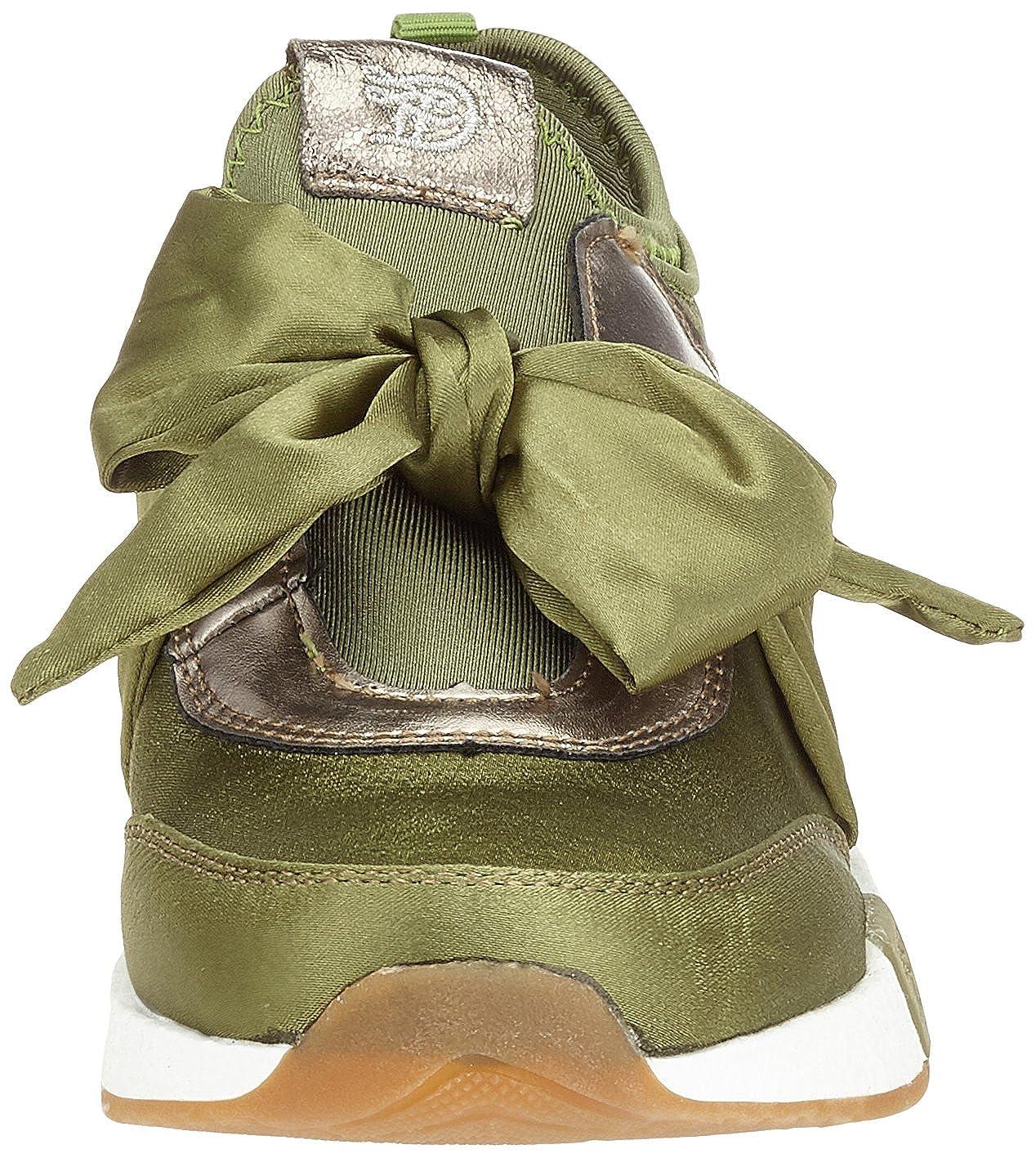 TOM TAILOR Damen 4899105 Grün Sneaker Grün 4899105 (Khaki) 3c0843