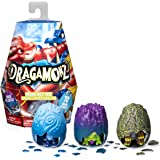 Dragamonz, Dragon Multi 3-Pack, Collectible Figure and Trading Card Game, for Kids Aged 5 and Up