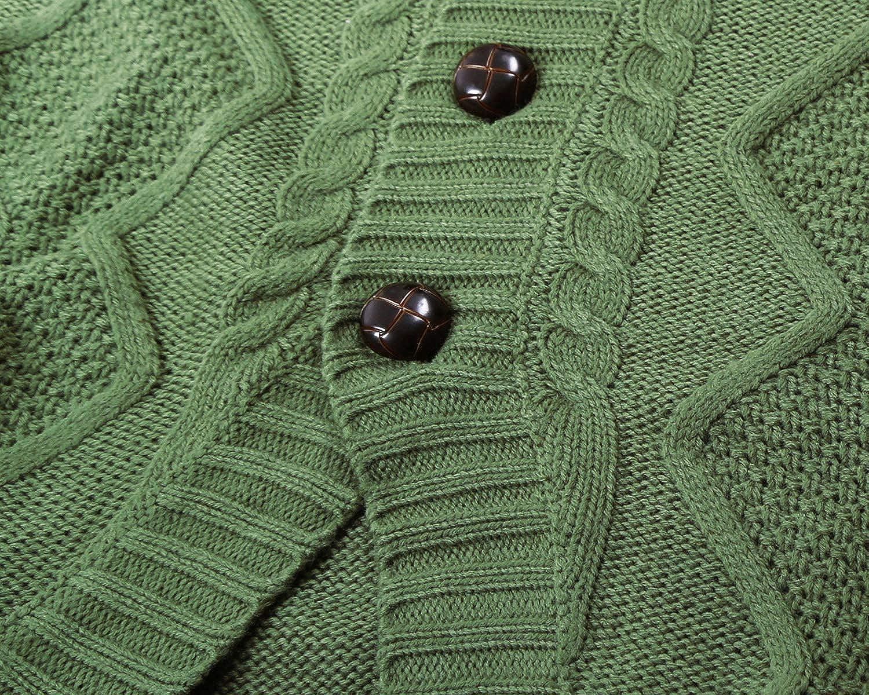 Dokotoo Femme Cardigan Manches Longues Veste Ouvert Poches Épais Tricot  Gilets Long en Maille Outwear Torsadé Agrandir l image 399b907cbe1e