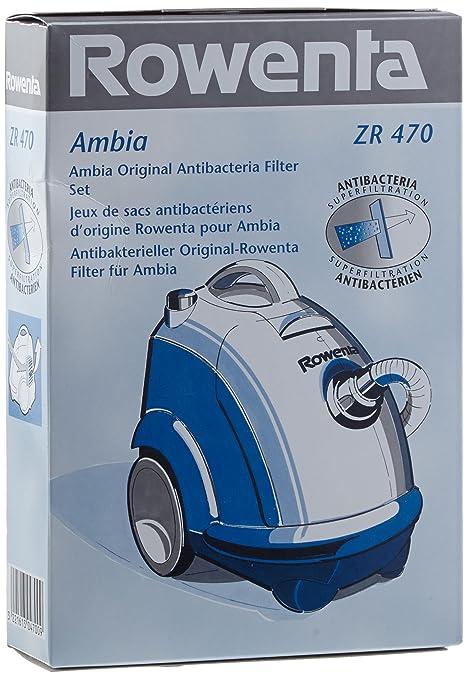Rowenta ZR470 - Bolsas de papel para aspiradora Ambia
