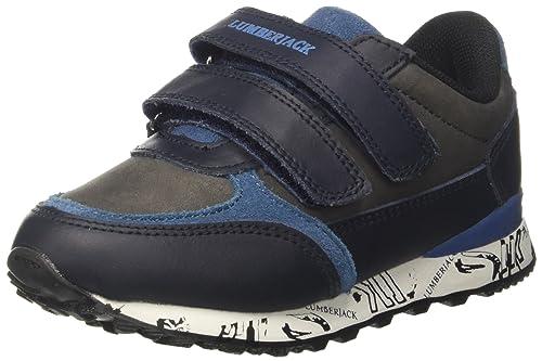 Sneakers blu navy per bambini Lumberjack tpwcpt