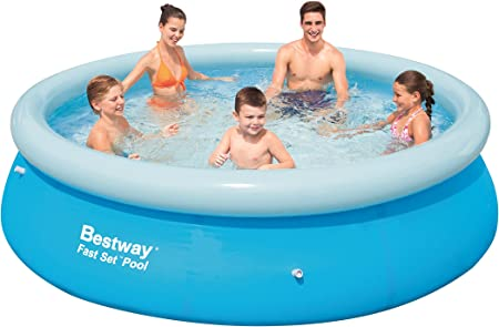 Bestway Fast Set - Piscina Redonda, 305 x 76 cm: Amazon.es: Jardín